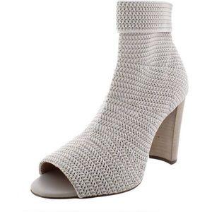 AVEC LES FILLES Mariah Peep Toe Heels Size 7